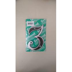 Numero Residencial em Aluminio - Nº3 Grelhasol - Santec