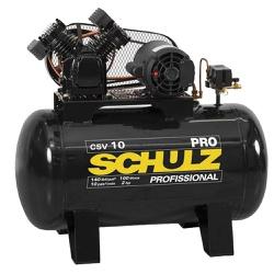 Compressor de Ar 10 Pés CSV10 Pro 100 Litros 2HP Schulz - Santec