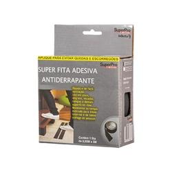 Fita Antiderrapante Preta 50mm x 5 Metros SP17005PR Superpro - Santec