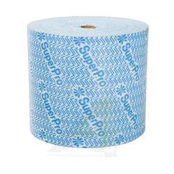 Pano Multiuso TNT 35gr Azul 27cm x 300m Superpro - Santec