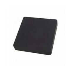 Calço de Borracha Quadrado 10cm 1001 Monfer - Santec