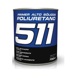 Primer HS Pu Cinza 511 750ml Maxi Rubber - Santec