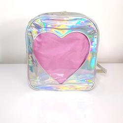 Bolsa Holográfica Heart - SANTACROW