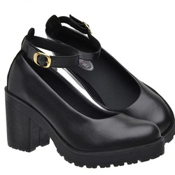 Sapato Boneca Modelo 3 Preto - SANTACROW
