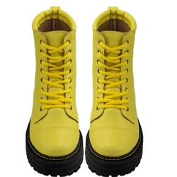 Coturno Militar Amarelo - SANTACROW