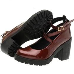 Sapato Boneca Modelo 1 Vinho - SANTACROW