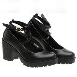Sapato Boneca Modelo 1 Preto - SANTACROW