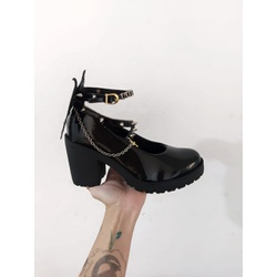Sapato Gothic Lolita Maeve - SANTACROW