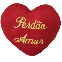 Coração de Pelúcia Perdão Amor