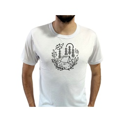 Camiseta T-Shirt Masculina Cabana Branca - 940 - Boot do Richard