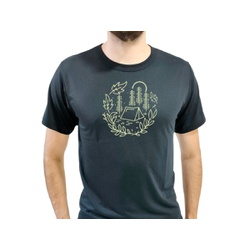 Camiseta T-Shirt Masculina Cabana Preta - 940 - Boot do Richard