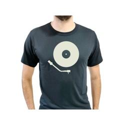 Camiseta T-Shirt Masculina Vinil Preta - 910 - Boot do Richard