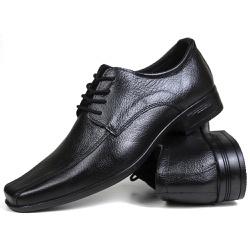Sapato Social em Couro Floater Preto 600 - SAPATOSHOPPING