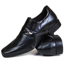 Sapato Social Gallipoli em Couro Preto 3335rp - SAPATOSHOPPING