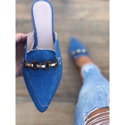 Mulle AP50 Jeans - FAB110 - Talline Sapatilhas Atacado