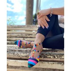 Sapatilha Valentino Color - EAS218 - Talline Sapatilhas Atacado