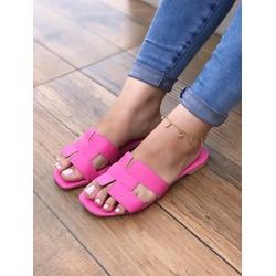 Rasteira H Pink