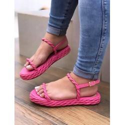 Flatform Tiras Pink