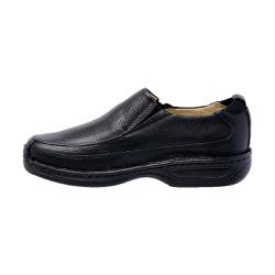 Sapato social masculino linha conforto em couro