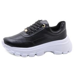 Tênis Feminino Chuncky Sneaker Vizzano 1356100 Pre... - SAPATO DE FRANCA