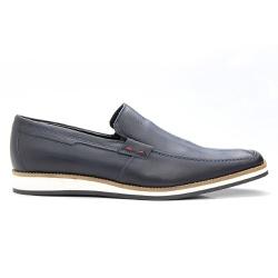 Sapato Mocassim Masculino Casual Estonado