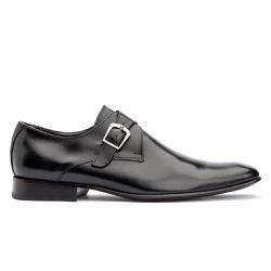 Sapato Monk strap Masculino Solado em Couro