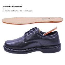 Sapato Social Masculino em Couro Pipper 6004 Preto... - SAPATO DE FRANCA