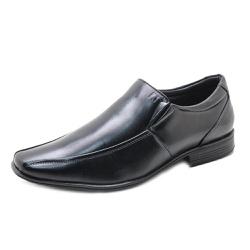 Sapato Social Masculino em Couro Pipper 90213 Pret... - SAPATO DE FRANCA