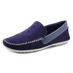 Mocassim Masculino Sapato de Franca 1600 Marinho 3... - SAPATO DE FRANCA
