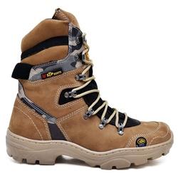 Bota Coturno Stop Boots - R47 - Marfim Camuflado C... - SAPATO DE FRANCA