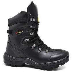 Bota Motociclista Stop Boots - R48 - Preto - 1093 - SAPATO DE FRANCA