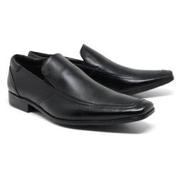 Sapato Social em Couro Cor Preto Ref. 1427-1014 - Sapatos de Franca