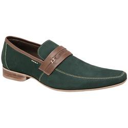 Sapato Casual Cor V erde Ref. 18646 - Sapatos de Franca