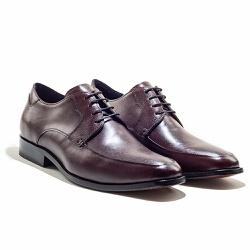 Sapato Social Masculino em Couro cor Mahogany - Sapatos de Franca