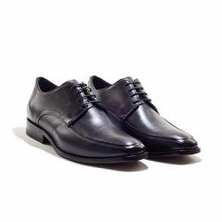 Sapato Social Masculino em Couro cor Preto - Sapatos de Franca