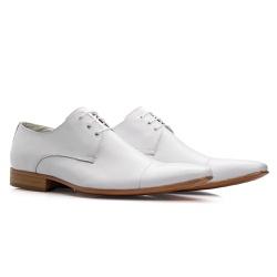 Sapato Social Branco - Sapatos de Franca