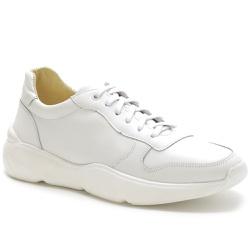 Tênis Casual Masculino Napa Ref-450012 Branco - Sapatos de Franca