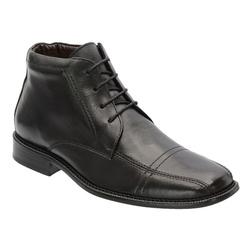 Bota Social Masculina Em Couro Preta Ref.5125 - Sapatos de Franca