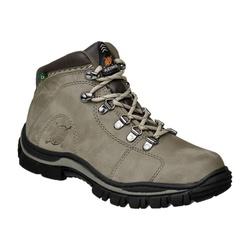 Coturno Adventure Masculino Em Couro Cor Cinza Ref... - Sapatos de Franca