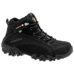 Coturno Adventure Masculino Em Couro Cor Preto- 42... - Sapatos de Franca