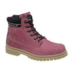 Coturno Adventure Masculino Em Couro Na Cor Pink 7... - Sapatos de Franca