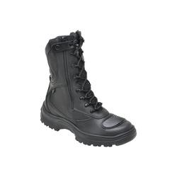 Coturno Militar Tático Em Couro Cor Preto 378 Tati... - Sapatos de Franca