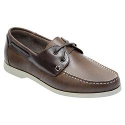 Docksider Masculino Em Couro Cor Café Ref. 1042-86... - Sapatos de Franca