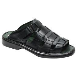 Sandália / Chinelo Conforto Levíssima Em Couro Cor... - Sapatos de Franca
