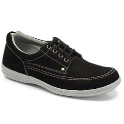 Sapato Masculino Linha Comfort Sportive Em Couro C... - Sapatos de Franca