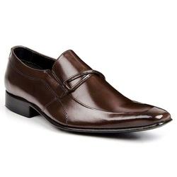 Sapato Social Italiano Classic Em Couro Mouro 1278... - Sapatos de Franca