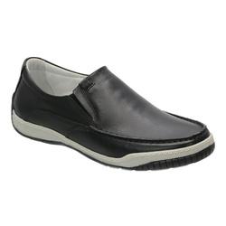 Sider Conforto Em Couro Na Cor Preto Ref. 1122-600 - Sapatos de Franca