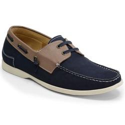 Sider Masculino Em Couro Azul Marinho Ref. 934-195... - Sapatos de Franca