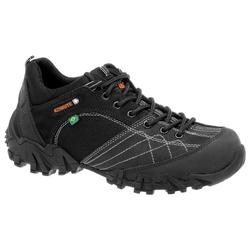 Tênis Adventure Preto Masculino Em Couro 490-b-550... - Sapatos de Franca