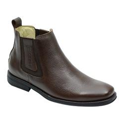 Botina Confort Premium Café - Sapatos de Franca